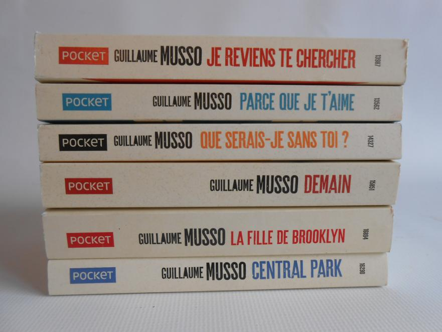 Pocket Guillaume Musso Lot De 6 Livres Fin Shop Belgium
